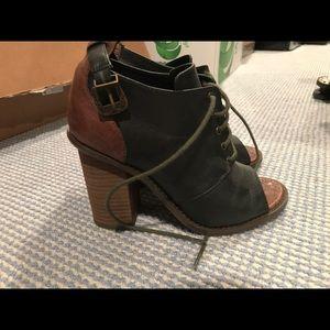 Kelsi dagger edgy chunky heels